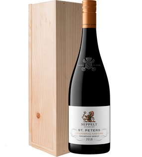 St. Peters Grampians Shiraz 2018 Giftbox