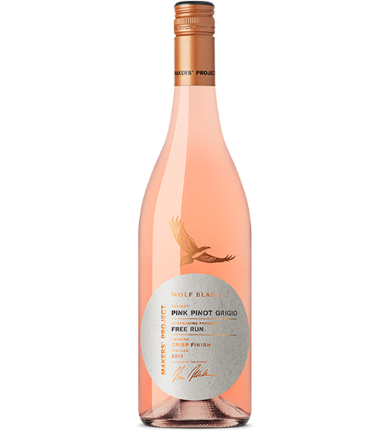 Makers' Project Pink Pinot Grigio 2020